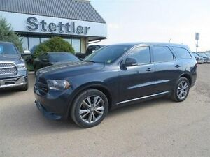 2013 Dodge Durango R/T AWD COOLED LEATHER SEATS! REAR DVD!