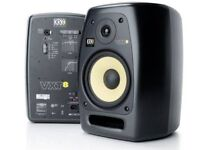 KRK VXT 8 Full Studio Bundle for £38 Per Day!!! Collection Only!
