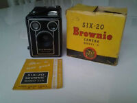 Kodak Brownie Camera Six-20,Model D.