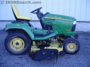 2004 John Deere X485 Garden Tractor