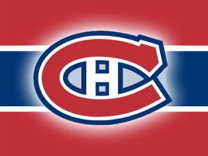 2 à 4 Billets Hurricanes de la Caroline vs Canadiens - Rouge/Red