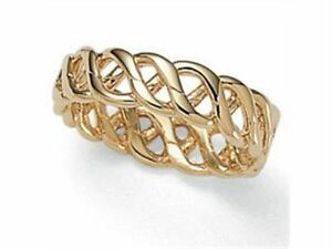 Gold plated ring beautiful