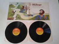 The Best Of Pete Seeger Double Album Vinyl Lp.