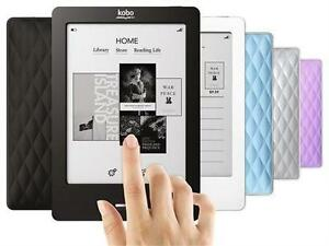 "Kobo Touch eReader 905 2GB, WiFi, 6"" 4 Colors New"
