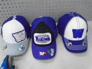University of Western Baseball Hats.  Brand New with Tags