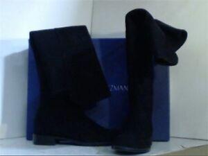 Stuart Weitzman Women's 5050 Over-the-Knee Boot, Black Suede