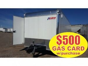 "2015 Pace American""SPECIAL OFFER"" 8.5x26 Pursuit Race Trailer 14"