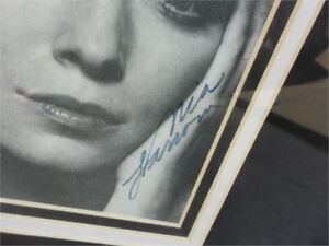 MIA FARROW SIGNED FRAMED PRINT