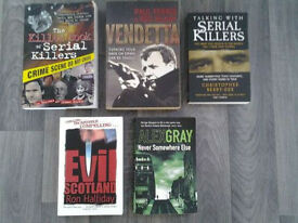 Crime Books/Thrillers (5).