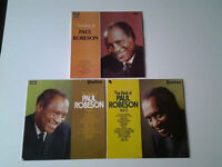 Paul Robeson Vinyl Lps (3).