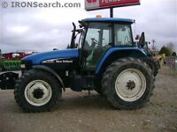 2003 New Holland TM140 Tractor