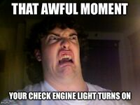 OBD2 scanning CHECK ENGINE LIGHT/ ABS/ SRS /SES with reset 10$