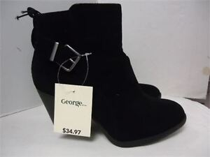George Ankle Boots- size 6 brand new in box black 18.00