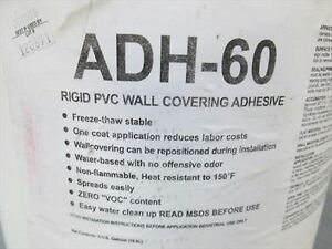 PAWLING RIGID PVC WALL COVERING AHESIVE 40LBS