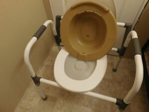 Commode seat and stand