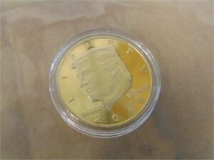 Trump 24K Gold Plated Coin 2018