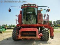2004 Case IH 2388 4WD Combine with Heads and Air Reel