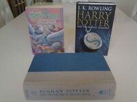 Harry Potter Books (3).
