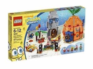 NEW LEGO 3818 SPONGE BOB BIKINI BOTTOM UNDERSEA PARTY