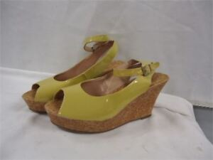 shoes size 9 brand new yellow only 10