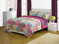Your Zone Modern Bedding Comforter Set- TWIN