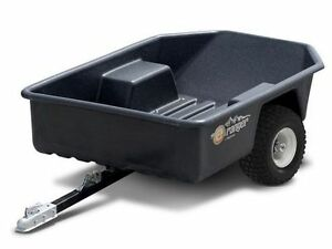 Equinox Ranger ATV garden tractor / tilt Trailer / black / new