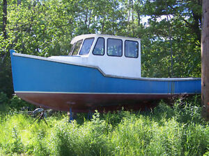 Wanted , 24' to 30' Fiberglass Lobster Boat