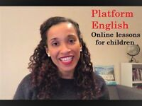 Amazing UK qualified children's teacher! Online English lessons.