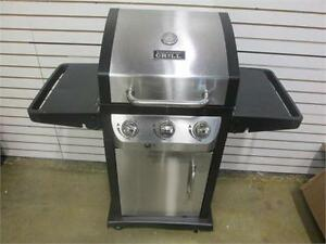Stainless Steel 3-Burner Propane BBQ Grill - Retail Value ~$400