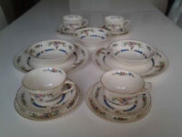 Vintage Old English Eastbourne Pattern Tableware.