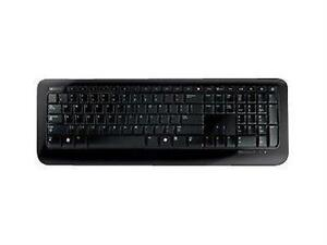 Microsoft Wireless Keyboards 2VJ-00001 Black USB RF 2.4GHz Hot Keys New
