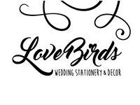 Love Birds Wedding Invitations and Decor