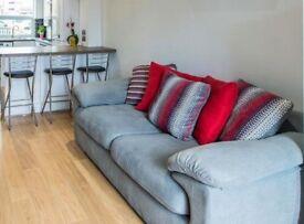 Sofa set with Swivel Cuddler chair