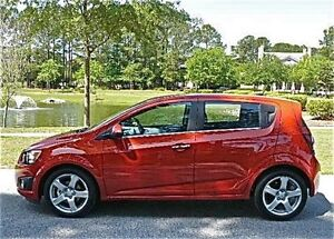 2012 Red Chevy Sonic