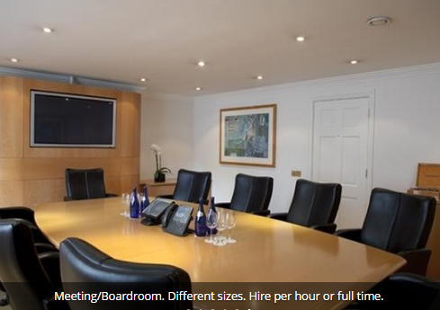 High-End Office Space on Eaton Gate (SW1), Serviced
