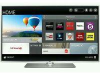 "LG 42""smart wifi tv HD freeview freesat Fully hd 1080p ultra slim top model new tv but no box ."