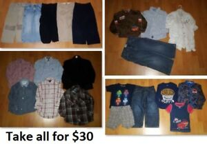 5T Boy Clothing Lot 1 (Take 21 Pieces for $30)