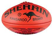 AFL Leather Sherrin Footballs