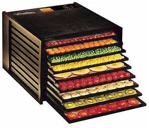 Excalibur Food Dehydrator 3926TCDB Black with Clear Door $389.95 FREE SHIPPING