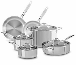 BRAND NEW Kitchen Aid 12 Piece Cookware set with Pasta insert