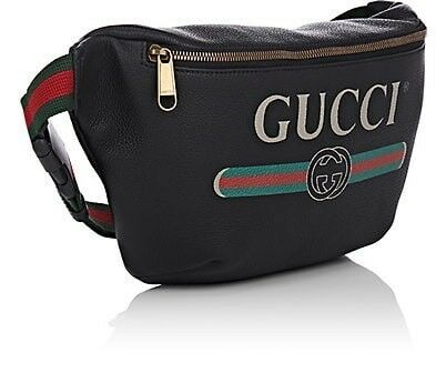 fa7c2b31241 Gucci Bum belt leather waist bag