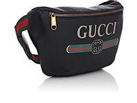 Gucci Bum belt leather waist bag