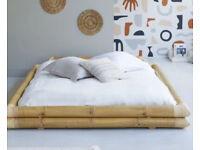 Balyss Bamboo Futon Bed Frame 160x200