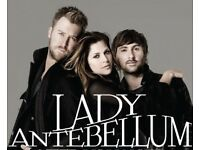 Lady Antebellum VIP Box tickets 10th October london O2