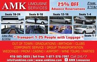 Share ride to Club $9.00/ person each way.