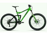 "Cube Stereo hpa 160 27.5 2015 16"" Full Suspension Enduro"