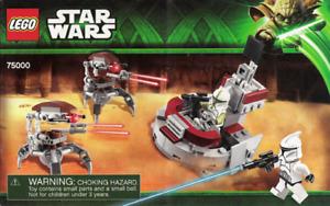 Lego Star wars, Storm troopers vs droidekas #75000