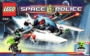 LEGO 5981 SPACE POLICE Raid VPR BRAND NEW SEALED retired