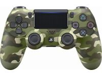 Playstation 4 v2 Green Camo Controller - Used for 2 games