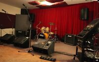 PRACTICE ROOM, REHEARSAL SPACE FOR RENT
